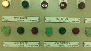water mist control panel